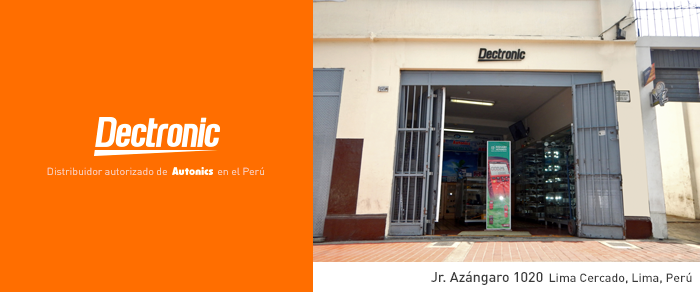 Autonics Perú - Dectronic (distribuidor autorizado)