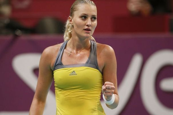 Kristina Mladenovic French Professional Tennis Player very hot and sexy stills