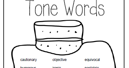 Literacy & Math Ideas: Free Chart Words to Describe the