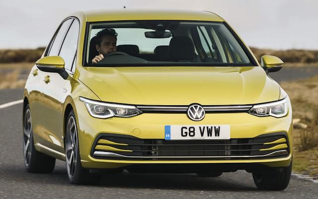 Volkswagen Golf VIII é o novo Rei soberano da Inglaterra