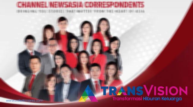 Daftar Channel Transvision di satelit telkom 3s