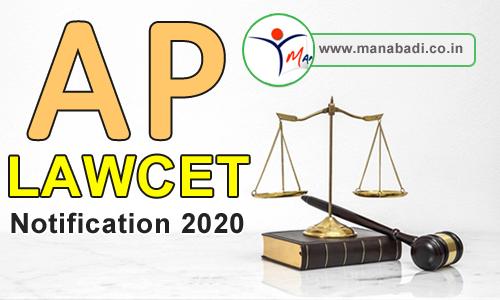 Andhra Pradesh LAWCET Notification 2020