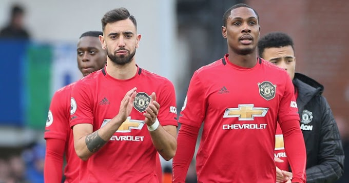 Solskjaer: January signing of Bruno Fernandes and Odion Ighalo made us stronger