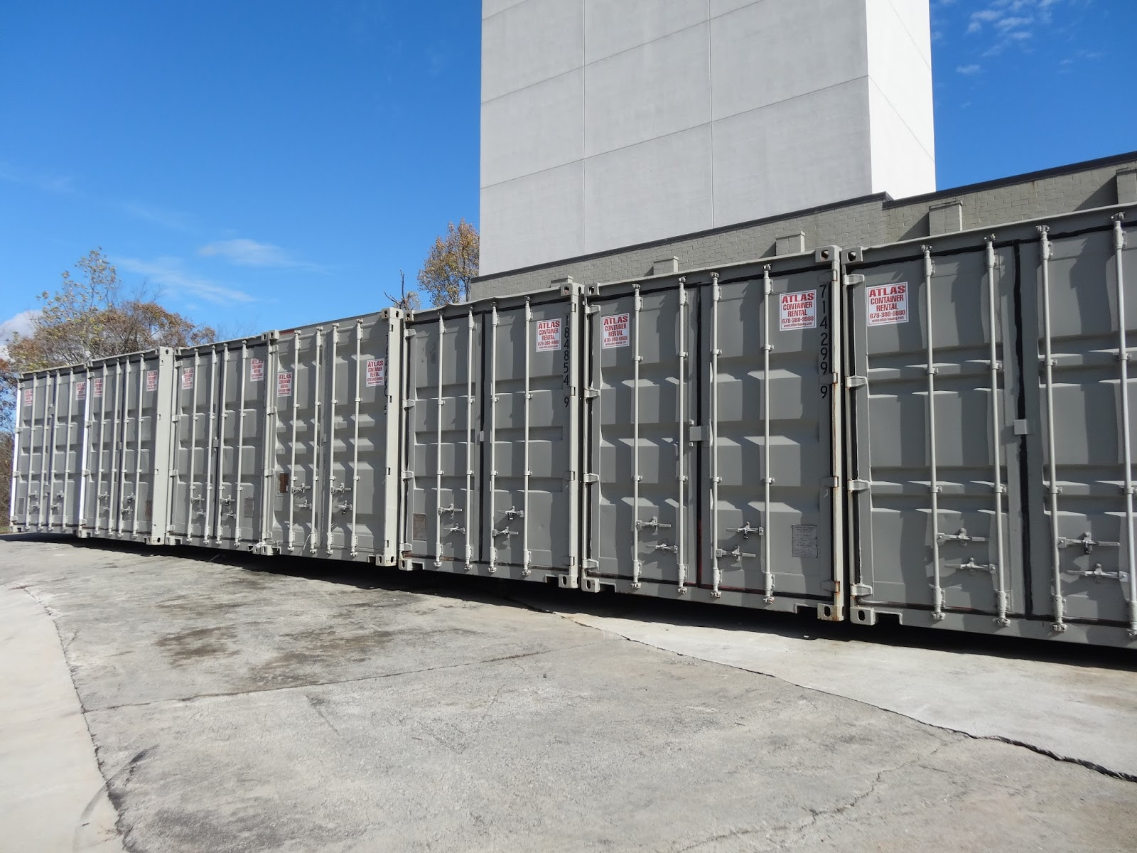 Storage Container Site Preparation Atlanta Used Shipping