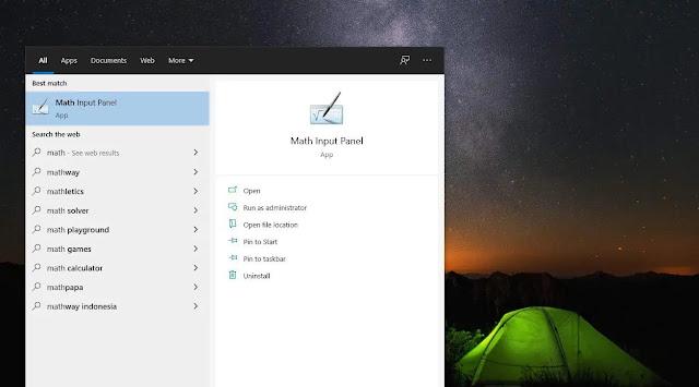 Windows 11 Desktop Wallpaper, Math Input Panel, and News & Interest