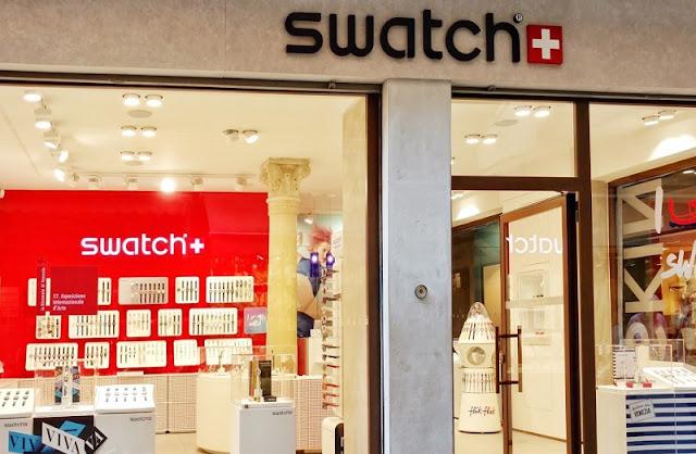 Loja da Swatch em Veneza