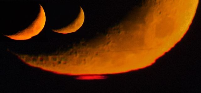 Sky-watcher captures strange red flash on the Moon  Red-flash-moon