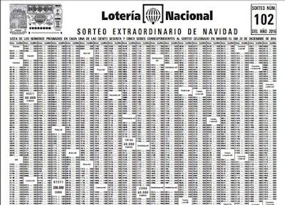 lista oficial loteria navidad 2016