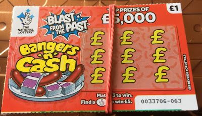 £1 Bangers n Cash Scratchcard