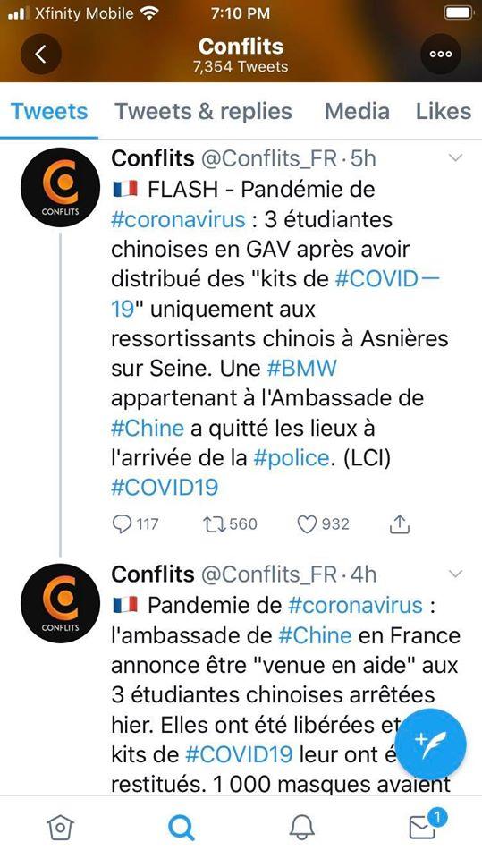 Cảnh sát Pháp bắt 3 Sinh Viên Trung Quốc khi chỉ phát Kid Covid-19 cho riêng người TQ