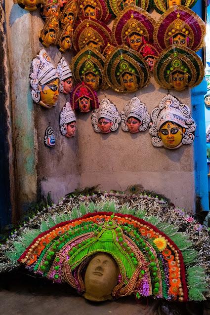 Chhau Mask Purulia