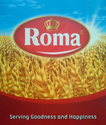 Roti Marie - Roma Logo Baru