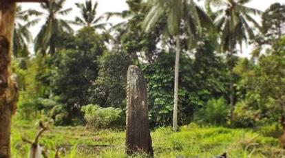 batu yang berdiri