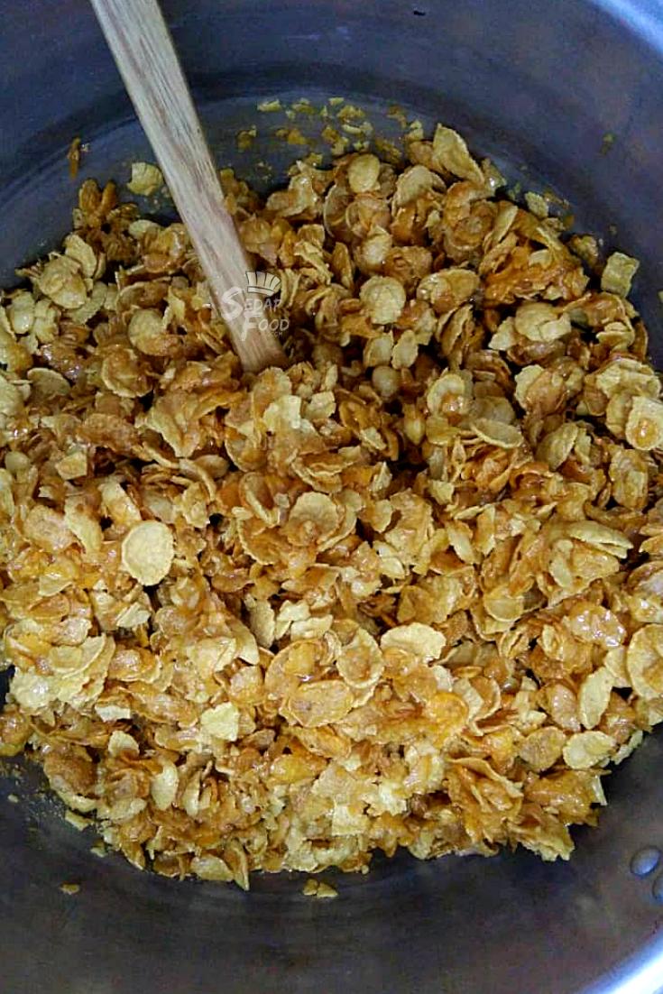 cara buat biskut cornflakes