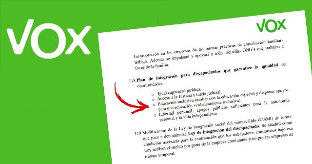 Programa de Vox
