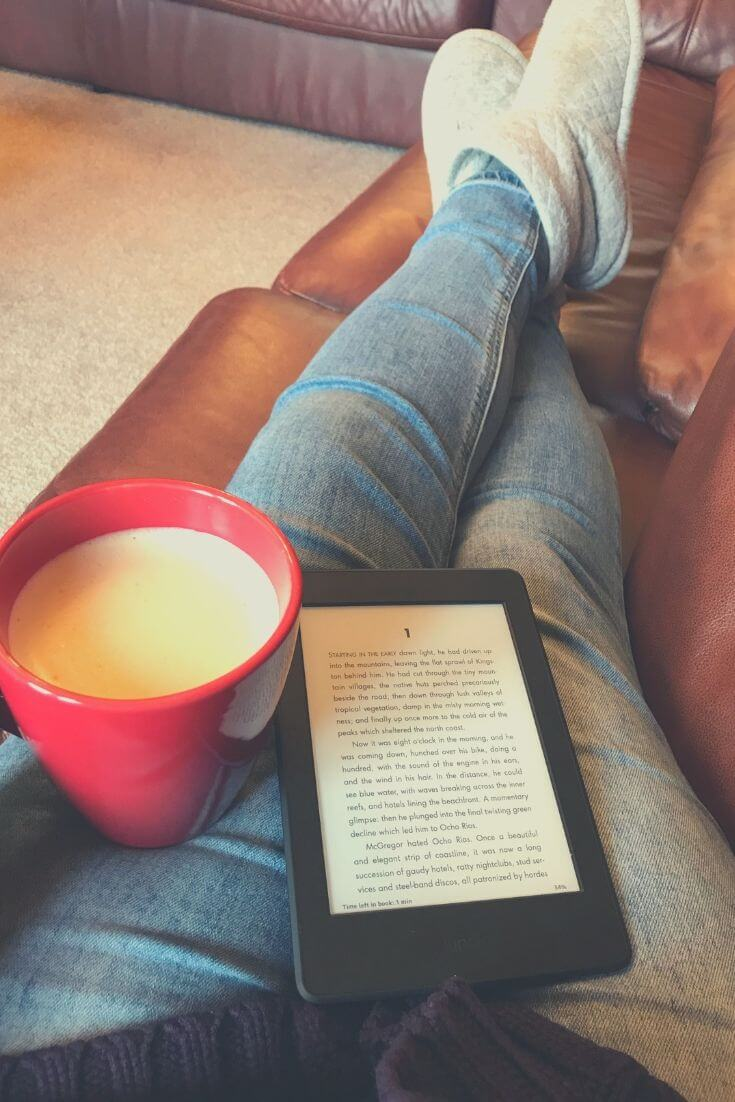 How To Keep Promises To Yourself | Enjoy that hot coffee and maybe even read a chapter.
