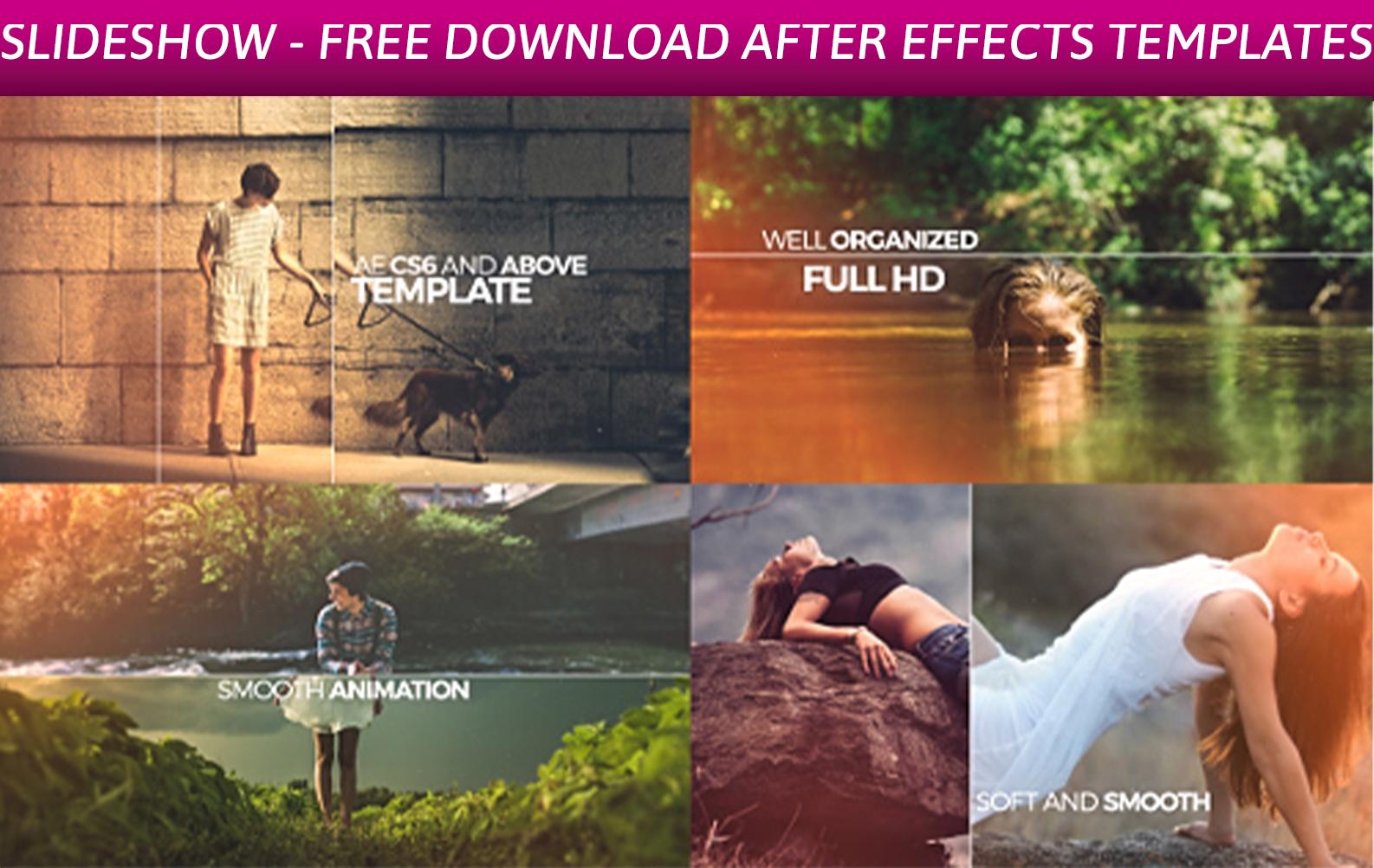 Elegant Opener Slideshow - Free Download After Effects Templates