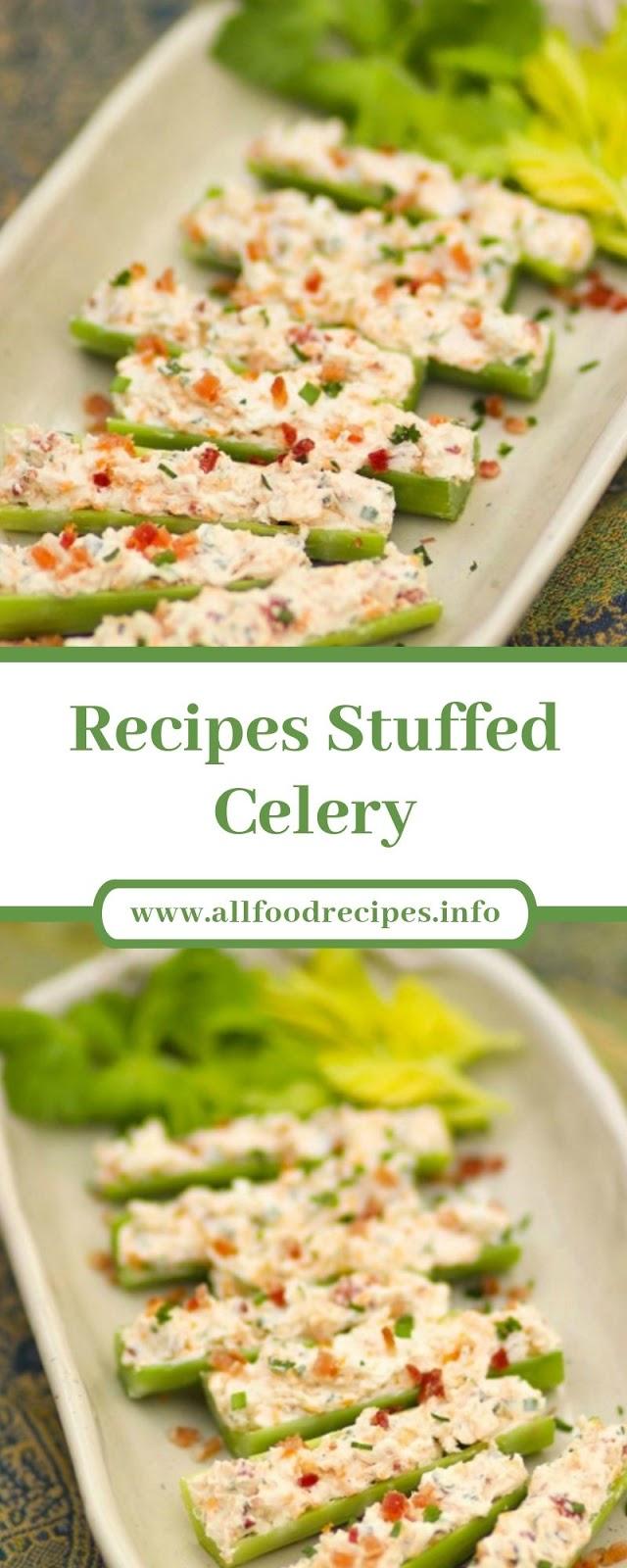 Recipes Stuffed Celery