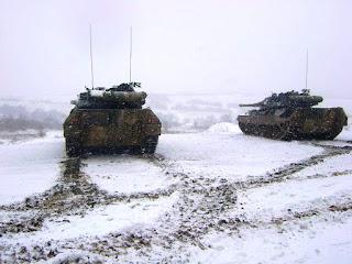 Επιχειρησιακή Εκπαίδευση 50 Μηχανοκίνητης Ταξιαρχίας στον χιονισμένο Έβρο