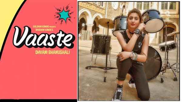 dhvani bhanushali vaaste lyrics