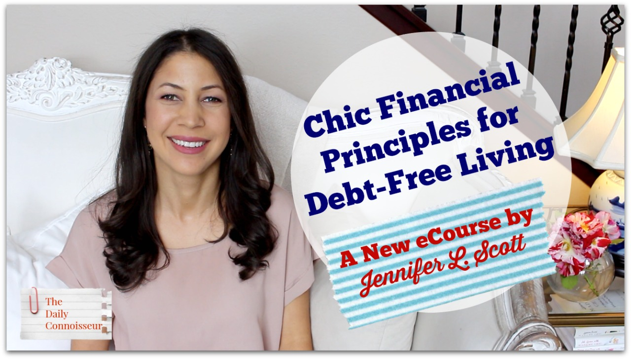 Chic Financial Principles for Debt-Free Living
