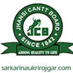 Jhansi Cantonment Board Recruitment