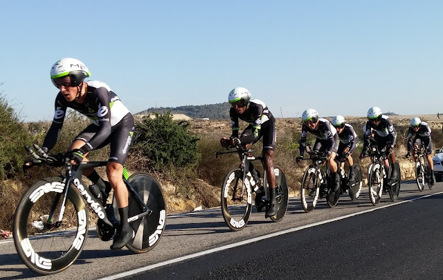 Foto.: Crono por equipos, Vuelta a la Comunidad Valencia