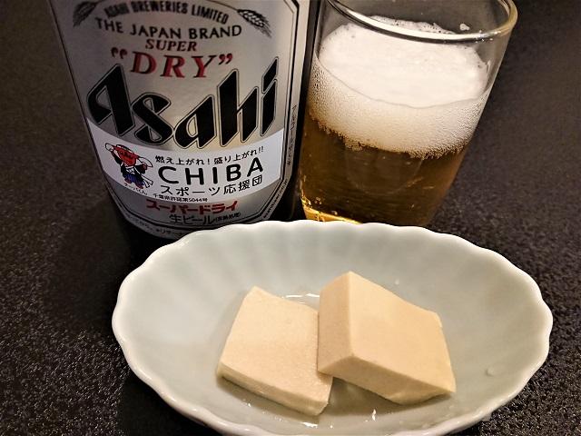 うなぎ成田新川 瓶ビール