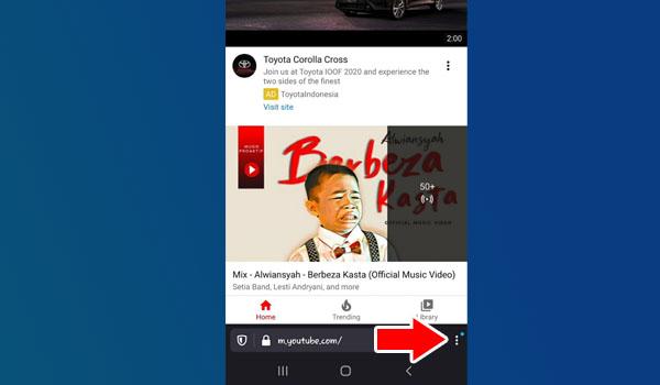 2 Cara Agar Youtube Tetap Menyala Saat Membuka Aplikasi Lain