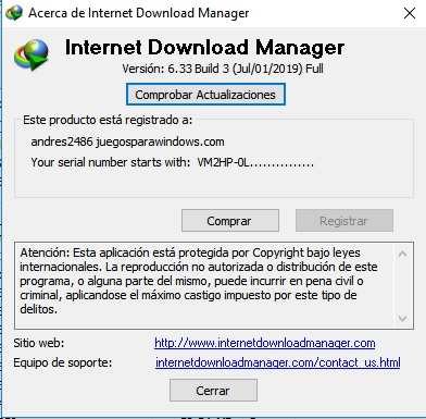Internet Download Manager v6.33 Build 3 PC ESPAÑOL 2