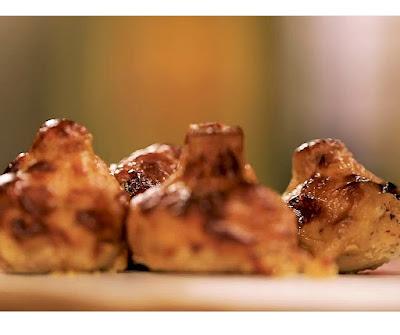 Homemade tandoori mushroom recipe