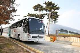 KT Corp. Tests Driverless Bus at Incheon Int'l Airport