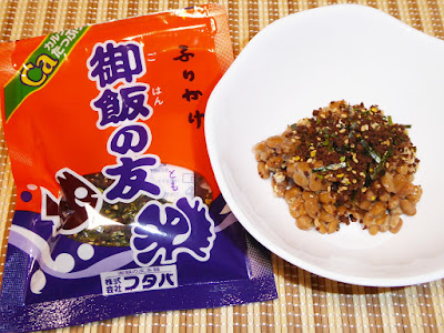 納豆に御飯の友(ふりかけ)