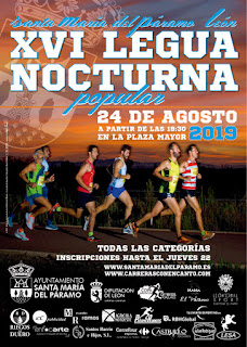 Legua Nocturna Santa Maria Paramo 2019