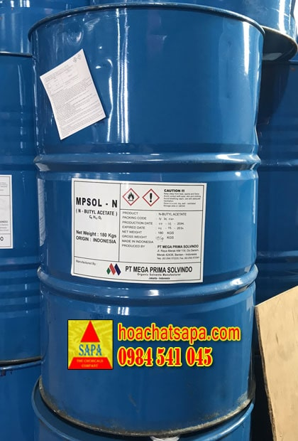 Dung môi n - Butyl Acetate (n-BAC) Indonesia