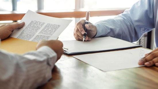 documento assinado partes elementos cobranca divida