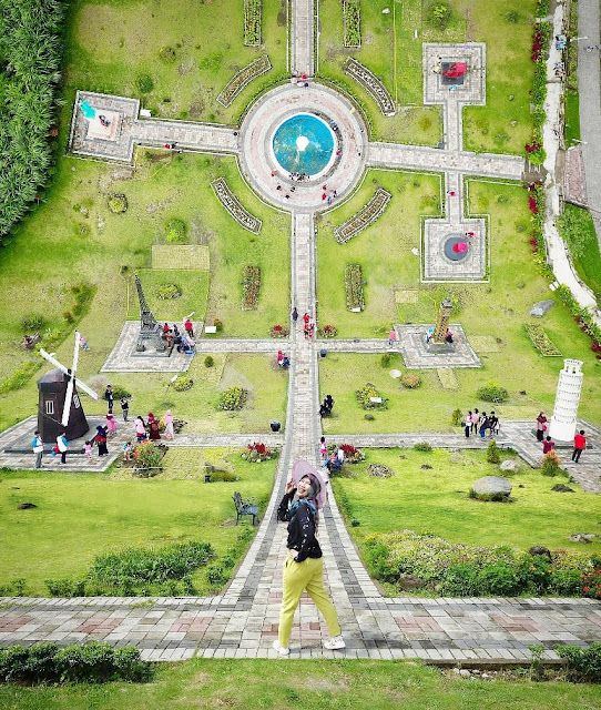 Selfie Keren The Wolrd Landmarks Merapi Park Sleman Yogyakarta