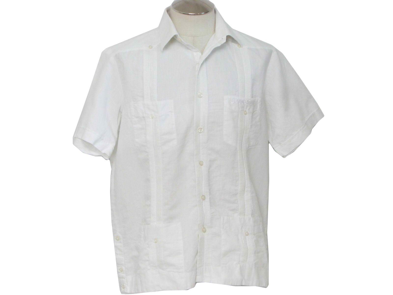 Mens Vintage Guayabera Shirts