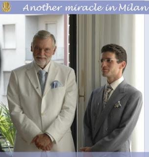 Fellowship of Friends cult leader Robert Earl Burton and Asaf Braverman in Milan