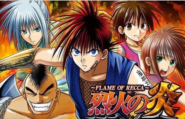 Rekka no Honoo - Daftar Anime Martial Arts Terbaik dan Terpopuler