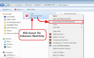 SketchUp File Version Converter - Versi Compact 1.0