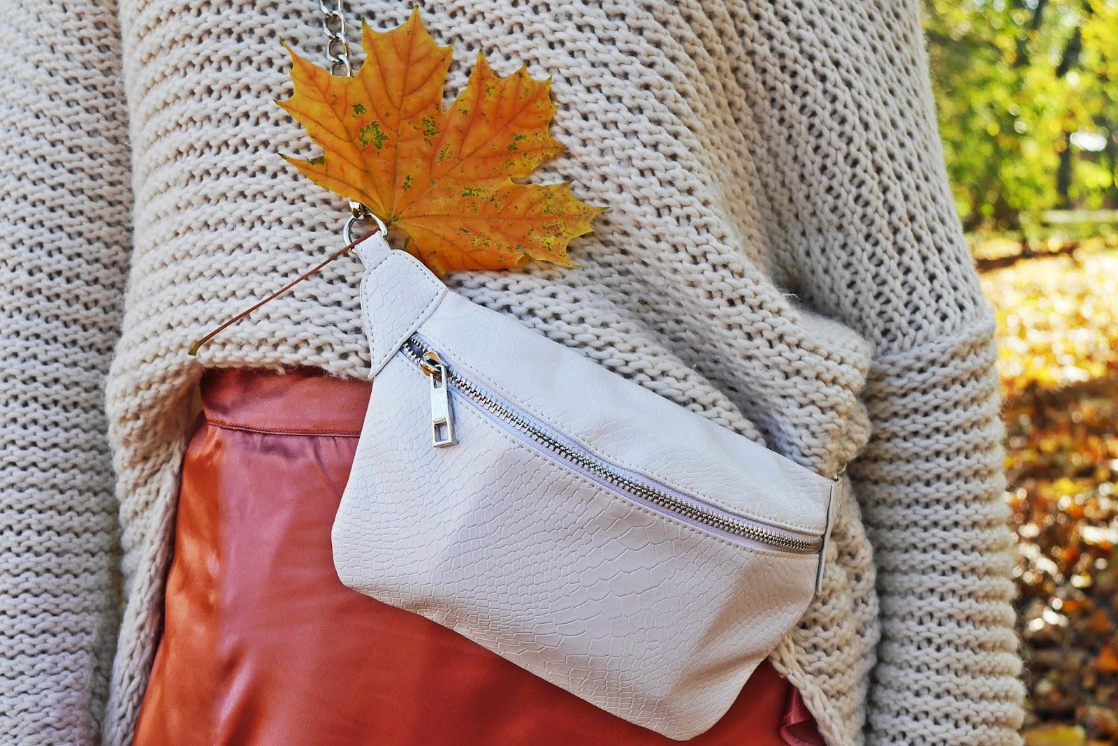 torebka biała nerka bonprix karyn blog modowy blogerka modowa puławy