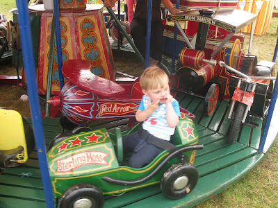 Toddler at Fairgrond