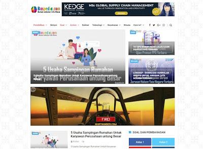 review website bospedia, situs bertema pendidikan