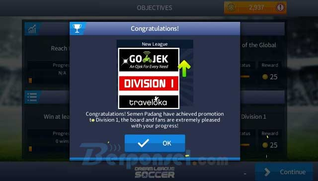 DLS Mod v4.03 Liga Gojek Traveloka Indo Team Apk + Data