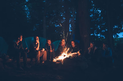 Camping is the best productive things to do over the summer for college students