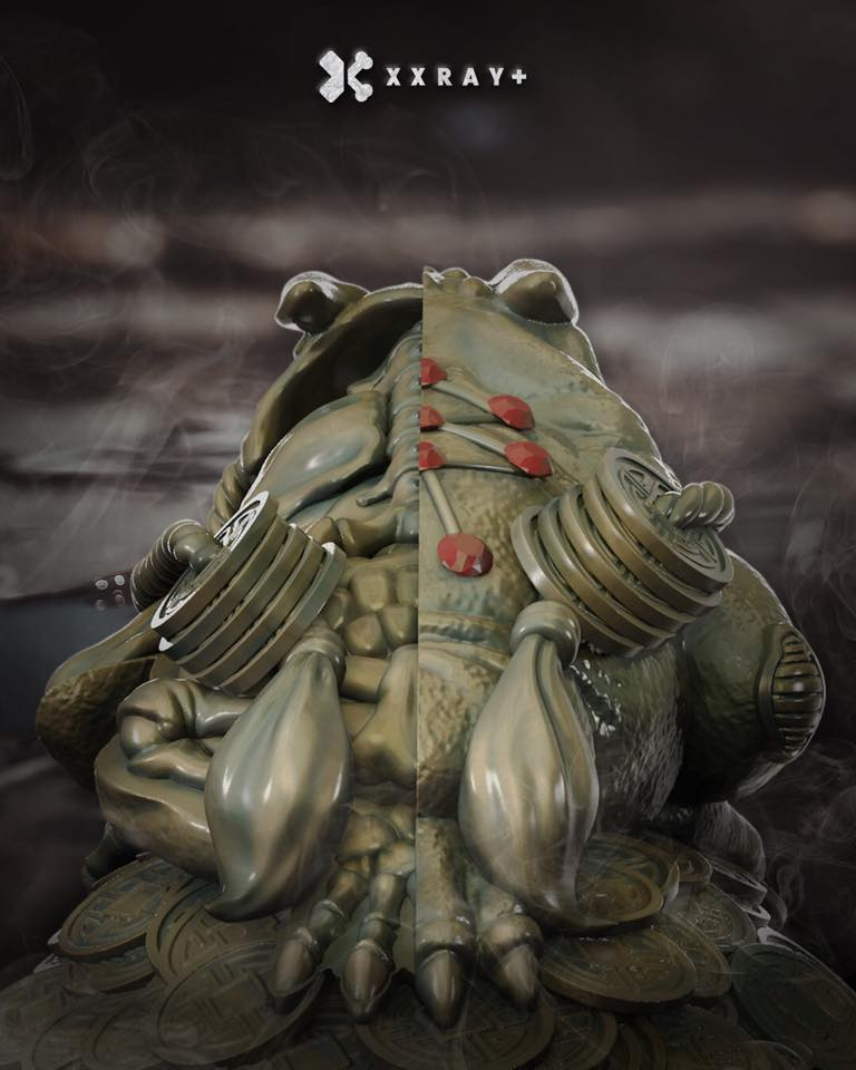 XXRAY PLUS DISSECTED FORTUNE FROGS by Jason Freeny x Mighty Jaxx for ...