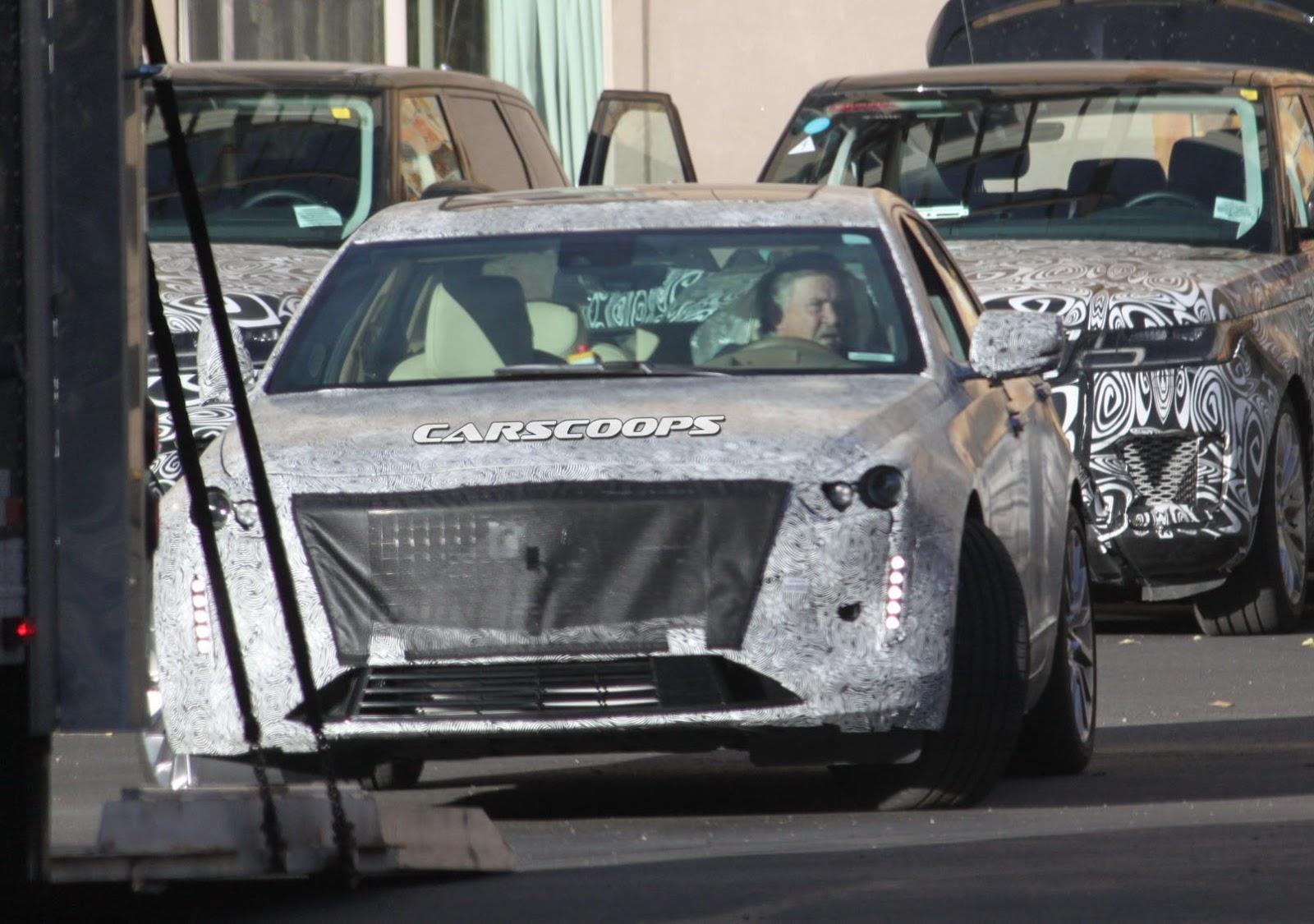 U Spy 2019 Cadillac CT6 With Escala Concept-Inspired ...