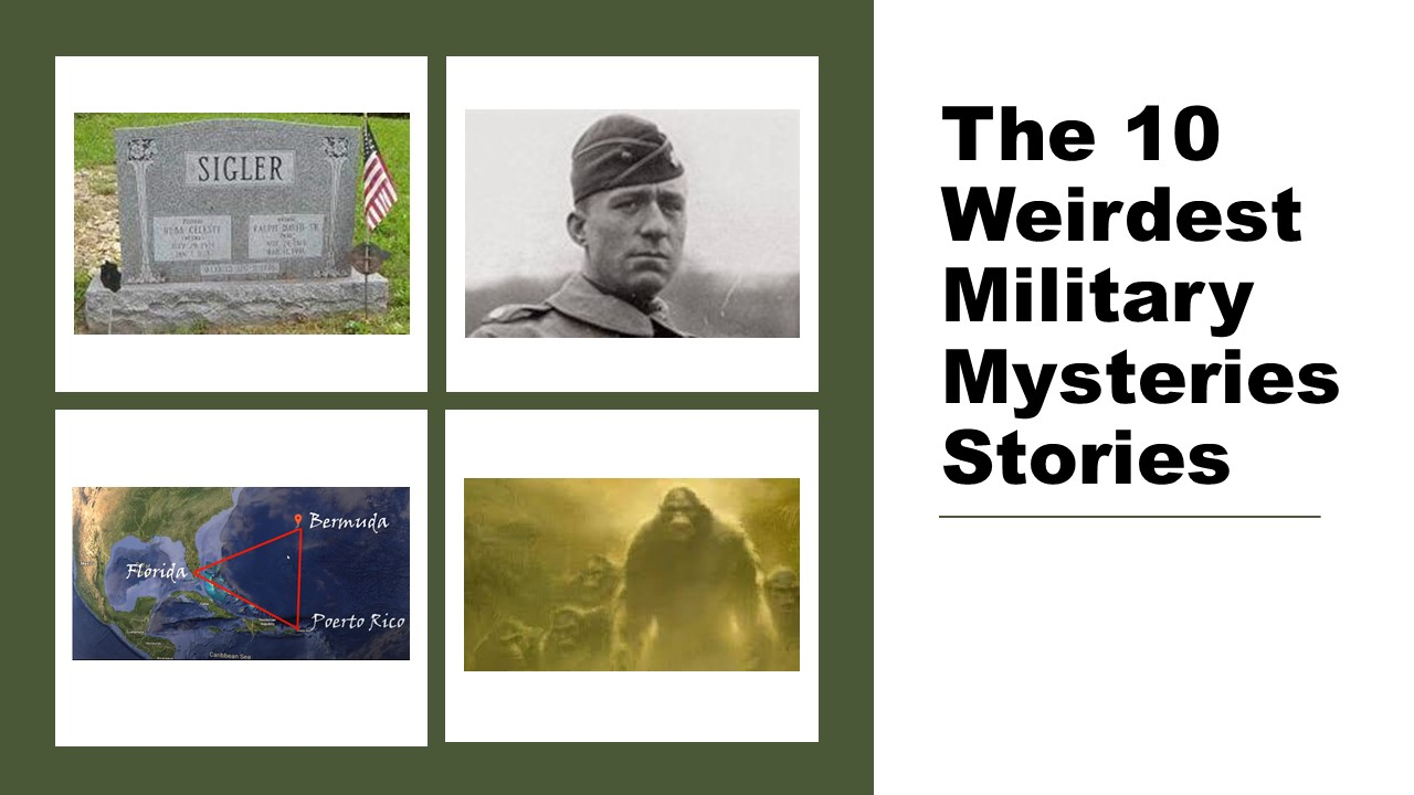 The 10 Weirdest Military Mysteries Stories   Military Stories