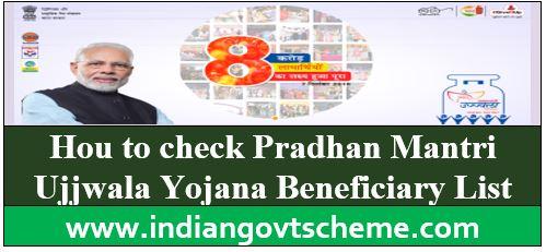 Pradhan Mantri Ujjwala Yojana Beneficiary